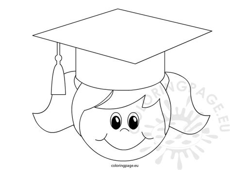 pin graduation cap coloring book page on pinterest