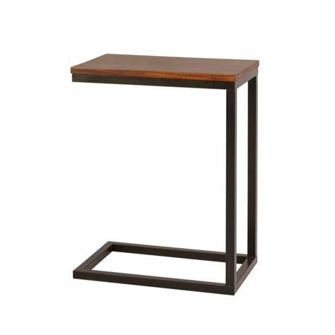 mesita auxiliar sofa mesita auxiliar hierro y madera el globo muebles