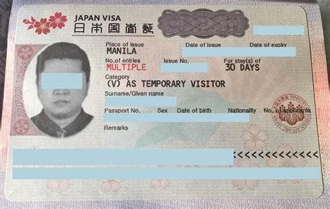 japan visa requirements application  tourists