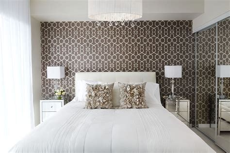 trendy wallpaper ideas to decorate your bedroom 22 geometric wallpaper designs decor ideas design trends