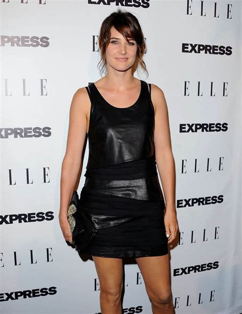 safe haven red dress 17 best images about cobie smulders on pinterest safe
