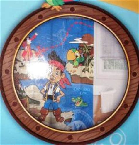 treasure map shower curtain disney jake and the neverland pirates treasure map bath