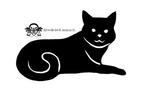 tattoo black cat silhouette 17 best images about tattoo designs on pinterest