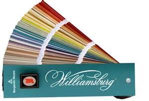 benjamin williamsburg color collection benjamin moore collaborates with the colonial williamsburg