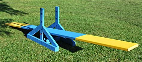 how to agility dogs agility seesaw and how to build on