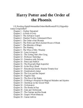 Harry Potter and the Order of the Phoenix (Harry Potter #5