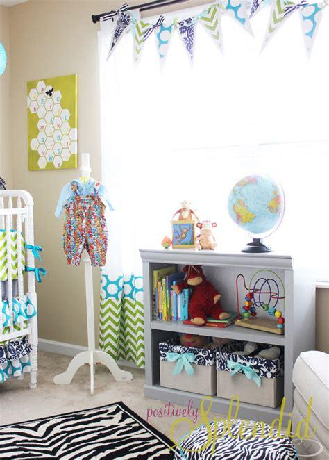 baby boy nursery tour positively splendid crafts