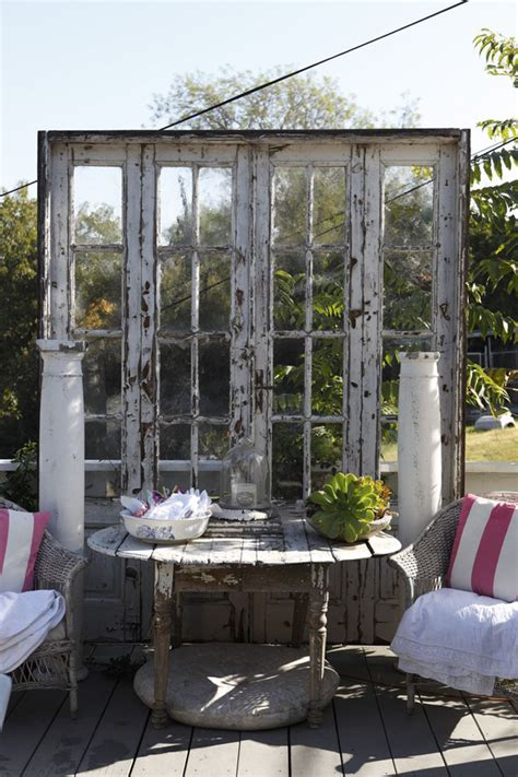 Repurposed Home Decorating Ideas by Outdoor Decor Repurposing Doors Interiorholic