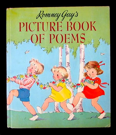 poetry picture books for children romney s picture book of poems a poetry book