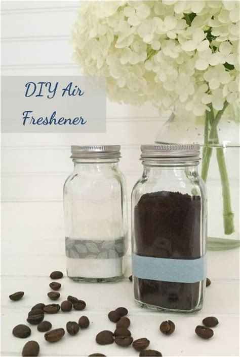 homemade bathroom air freshener diy an air freshener using coffee grounds crafts