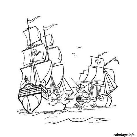 dessin bateau colorier coloriage bateau guerre jecolorie