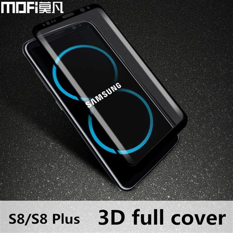 Samsung Galaxy S8 Screen Protector Cover Original mofi original 3d screen protector for samsung galaxy s8 s8plus