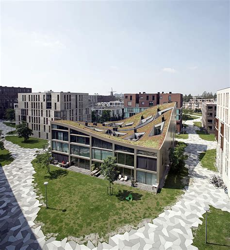 fresh home com creative housing block in one of amsterdam s new residential neighborhoods freshome com