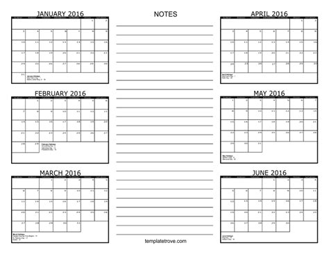 page month calendar search results calendar 2015 search results for 6 month free printable calendar 2016