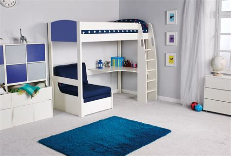 stompa uno s high sleeper desk chair bed