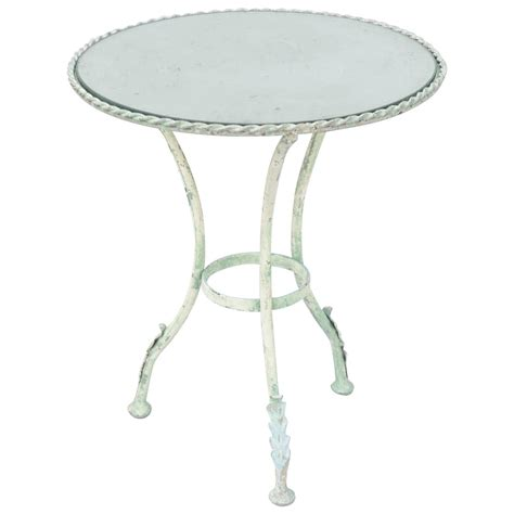 metal accent table verdigris metal accent table at 1stdibs