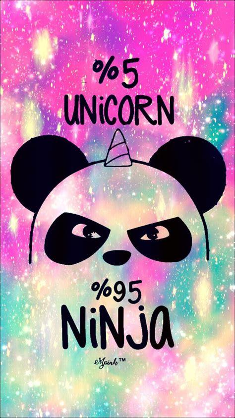 unicorn  ninja galaxy iphoneandroid wallpaper