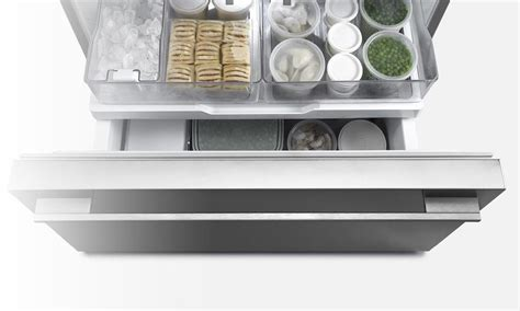 Pull Out Fridge Drawers by Fisher Paykel Rf522wdrx4 Flat Design Free Fridge Pull Out Freezer 242 Ebay