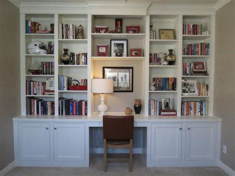 wall unit with desk and bookcases desks