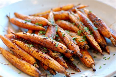 balsamic roasted carrots the 350 degree oven