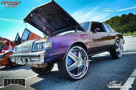 buick regal with rims buick regal dub s774 delusion wheels chrome