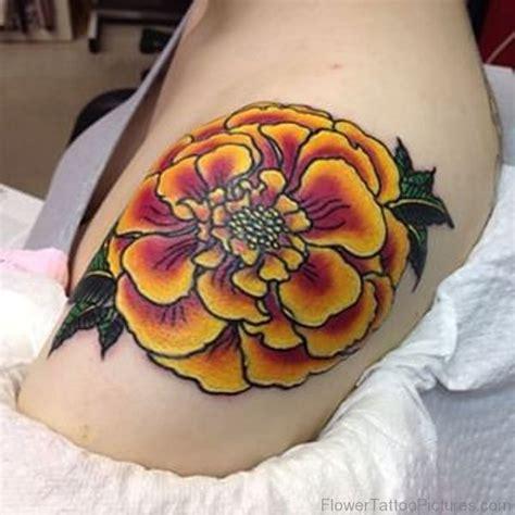 marigold tattoo 50 phenomenal marigold flower tattoos