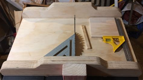 diy crosscut sled  ryobi rtsrg table  youtube