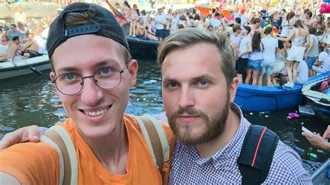 Russia's First Gay Married Couple Vows Never To Come Home