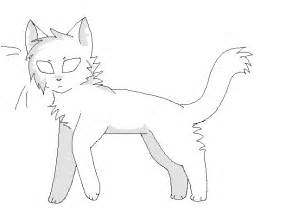 warrior cat template tom warrior cat coloring pages