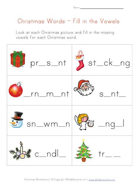 printable word games ks1 free printable preschool christmas worksheets preschool
