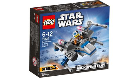 Dijamin Lego 75125 Wars Resistance X Wing Fighter 75125 resistance x wing fighter lego 174 wars