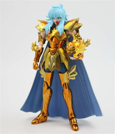 Seiya Goldsaint 12 Bintang Ex metal club s temple mc seiya ex myth cloth metal gold pisces aphrodite figure model kit