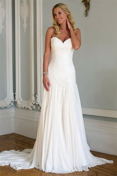Dress White Slim Waist 17029 1000 ideas about drop waist wedding dress on