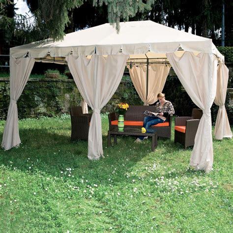 teli copertura gazebo set 6 teli laterali per gazebo armonia 3x4 mt arredo giardino