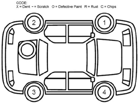 vehicle damage report diagram vehicle wiring diagram and