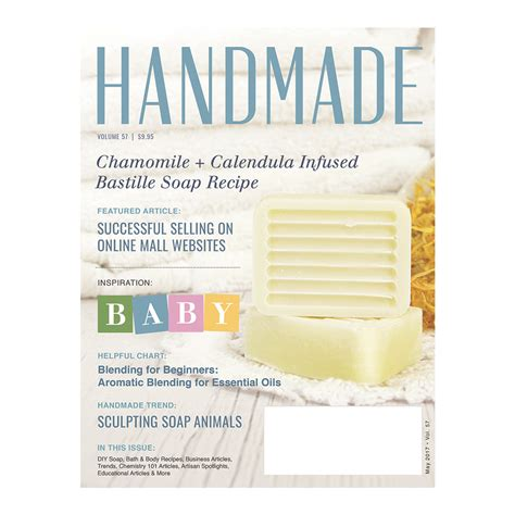Handmade Magazines - handmade magazine in print 05 2017 wholesale supplies plus