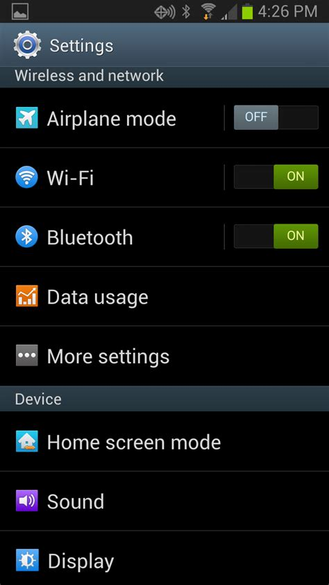 android mode what s airplane mode and how to turn it step by step with screenshots