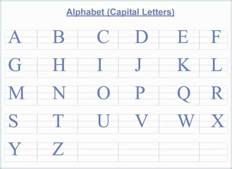 Capital Letter Letters 187 Capital Letters And Small Letters Alphabet Free Math Worksheets For Kidergarten And
