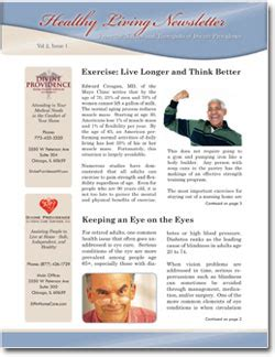 Patient Newsletter Patient Newsletters Home Health Physical Therapy