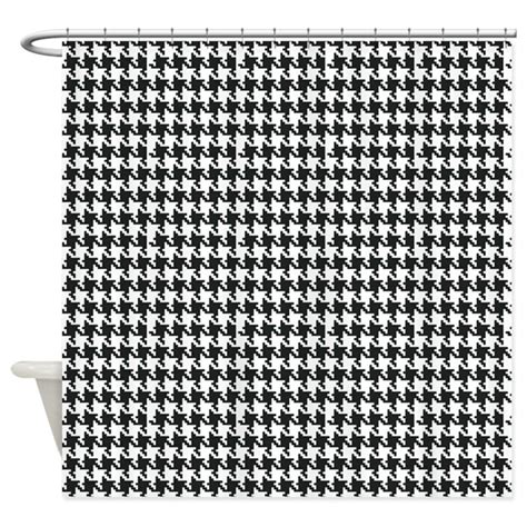 houndstooth curtains houndstooth shower curtain by organicpixels