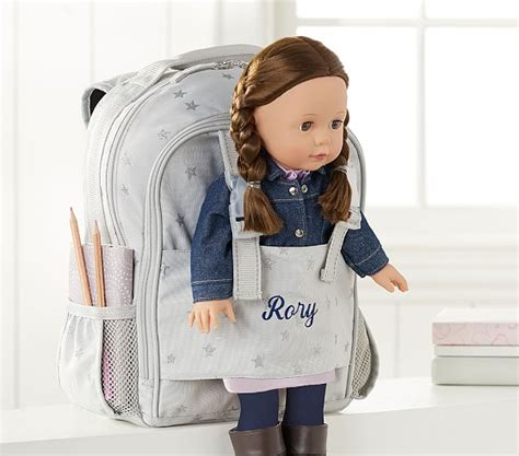 Pottery Barn Sleeping Bags Doll Carrying Backpack Pottery Barn Kids