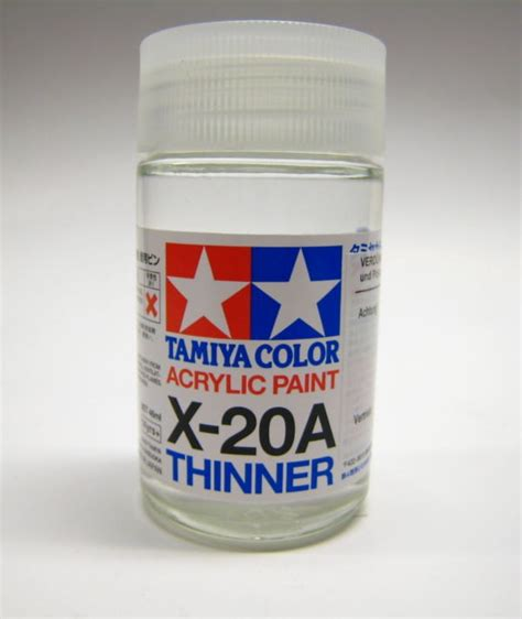 folk acrylic paint thinner tamiya 81030 x20a acrylic thinner 46ml for paint color