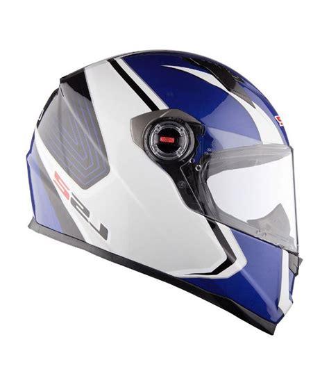 ls2 motocross helmets india ls2 helmet ff 351 corsa white blue size 58cms