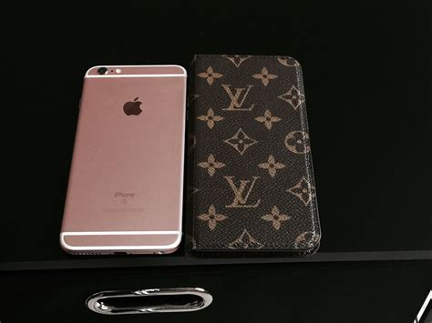 Iphone 6 6s Plus Lv Louis Vuitton Vintage Floral Hardcase Louis Vuitton Iphone 6s Plus Folio