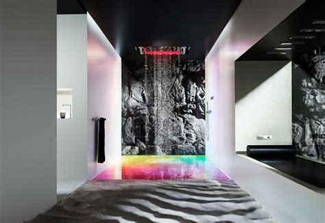 gäste badezimmer essentials take a shower in style with sensory sky from dornbracht