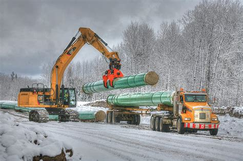 banister pipeline construction pipeline machinery photo contest