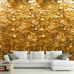 Wall Art Murals Wallpaper Large 3d Small Gourd Flower Wall Mural Photo Murals