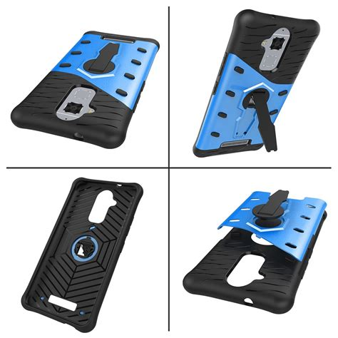 Anti Shockproof Asus Zenfone 3 Max kickstand hybrid bumper tpu phone cover for asus