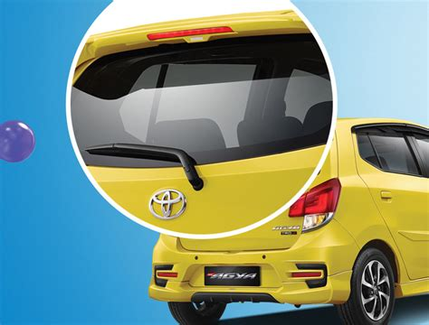 New Agya 2017 Spoiler With L Aksesoris Toyota Agya 2017 Toyota Agya And Daihatsu Ayla Facelift Launched In Indonesia New 1 2l 3nr Fe Four