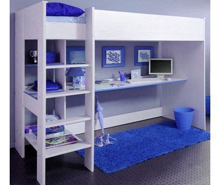 High Sleeper Beds Compare Prices by Parisot Uk Smoozy Blue High Sleeper Bunk Bed Review Compare Prices Buy